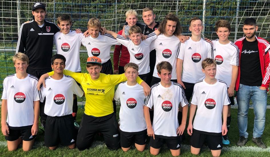 Mannschaftsfoto C-Junioren 2019/20